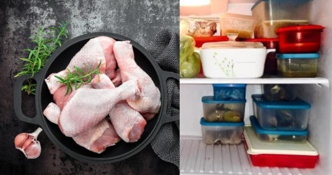 ayam kekal segar, cara simpan ayam, ayam tahan lama, simpan ayam dalam peti ais, petua simpan ayam segar,