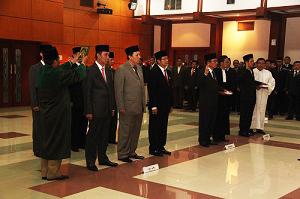 Pelantikan Pejabat bpn ri