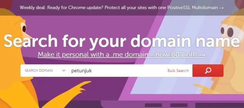 Cara Beli Domain Namecheap