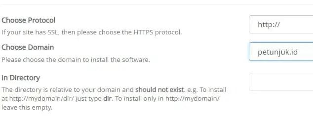 Cara Instal WordPress di cPanel