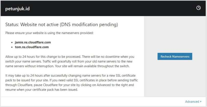 Cara Pasang SSL CloudFlare di WordPress