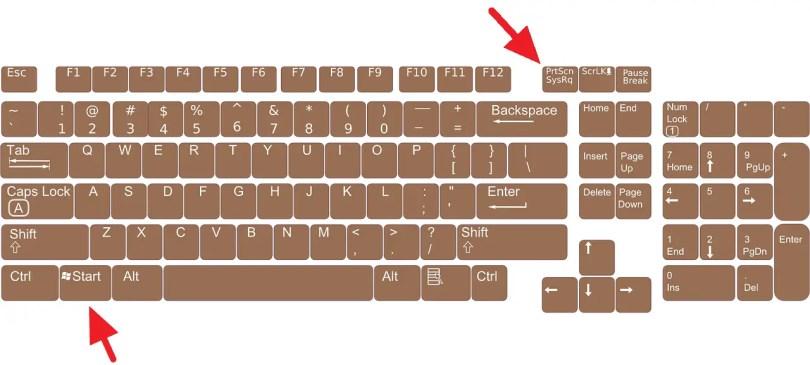 5 Cara Screenshot Windows 10 Tanpa Software (Tersimpan Otomatis) - keyboard 156077 1280 1 2