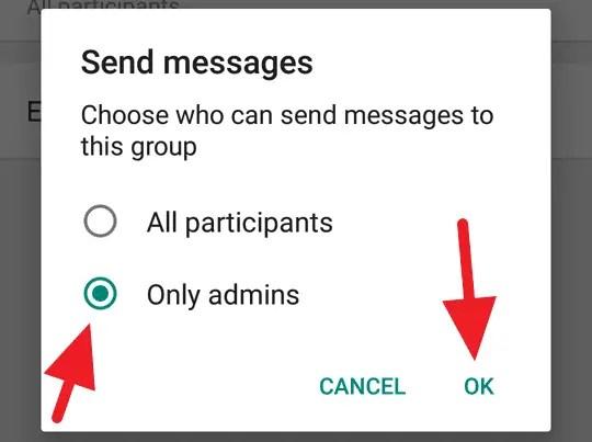Admin Grup WhatsApp