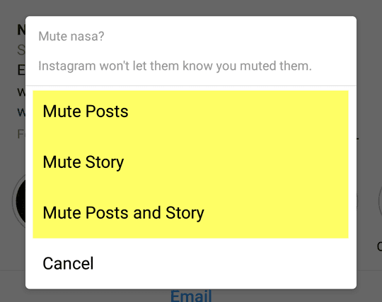 Cara Unfollow Instagram Tanpa Diketahui