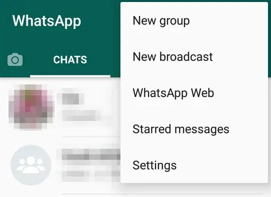 Cara WhatsApp Bahasa Inggris
