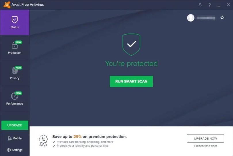 Mengatasi Avast UI Failed to Load