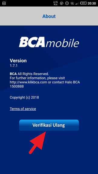 Cara Verifikasi Ulang BCA mobile dengan Benar (10 LANGKAH) - Screenshot 20190201 203030