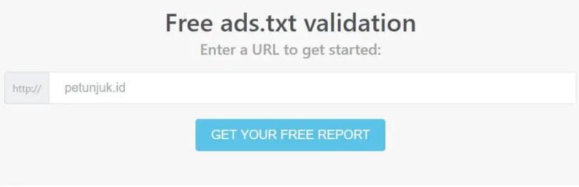 ads.txt validation