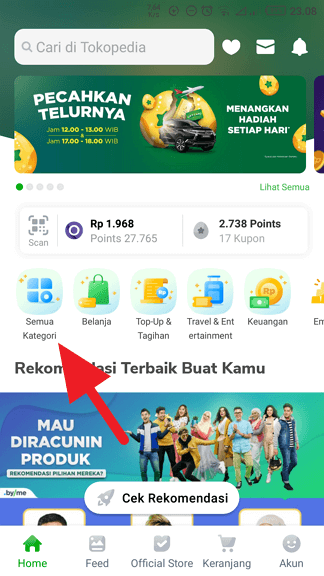 Cara Beli Voucher Google Play dengan OVO Points (2019) - Beli Google Play OVO Points 1