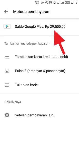 Cara Beli Voucher Google Play dengan OVO Points (2019) 15