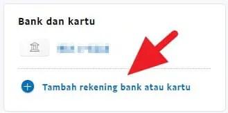Menambahkan kartu ke Paypal