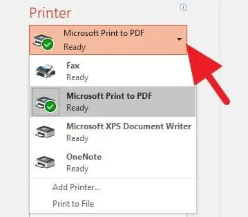 Printer PowerPoint