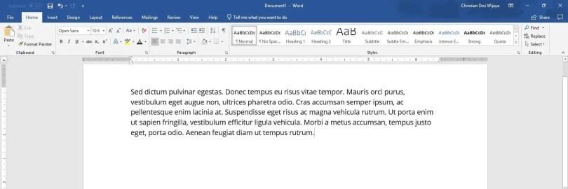 2 Cara Membuat Drop Cap di PowerPoint (SEMUA VERSI) - Drop Cap PowerPoint 1