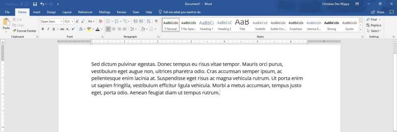 2 Cara Membuat Drop Cap di PowerPoint (SEMUA VERSI) 1