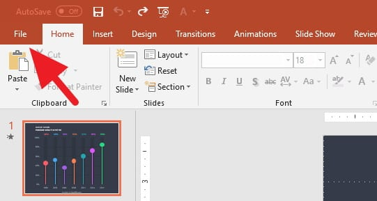 3 Cara Menyimpan File PowerPoint dengan Cepat - Menyimpan PowerPoint 1