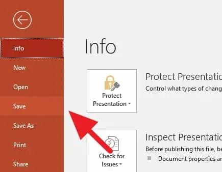 3 Cara Menyimpan File PowerPoint dengan Cepat - Menyimpan PowerPoint x