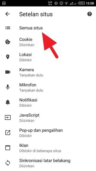 Cara Hapus Cache Website Tertentu di Chrome (Android & PC) - Cara Hapus Cache Website Tertentu 4