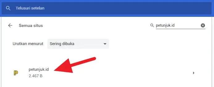 Cara Hapus Cache Website Tertentu di Chrome (Android & PC) - Hapus Cache Website Chrome 5