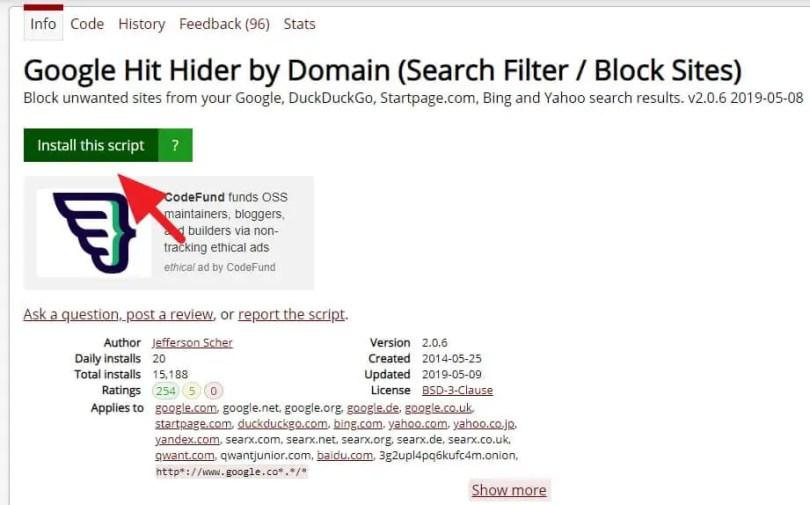 3 Cara Blokir Situs Tertentu dari Hasil Pencarian Google 10