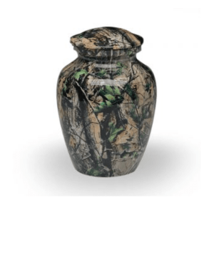 Camouflage Small Cremation Urn