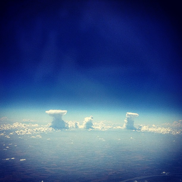 Clouds dancing in the sky over #Bulgaria (on my way from #Istanbul to #Manchester). I'll miss #дансwithme tonight, but my thoughts are with you, guys. :*