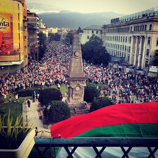 ОСТАВКА! #ДАНСwithme day 35 #protest #sofia #bulgaria