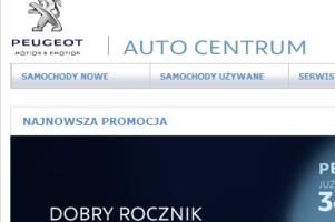 Salon Samochodowy Peugeot Auto Centrum Sp. z o.o.