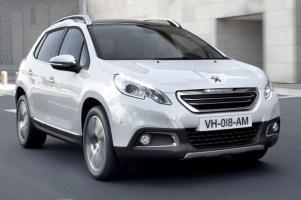 Trzydrzwiowa odmiana Peugeota 2008