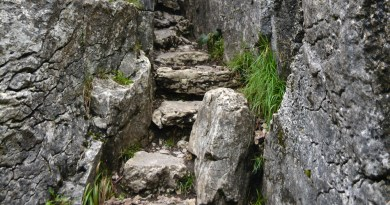 The Fairy Steps – Beetham – Voyage en Cumbrie féerique