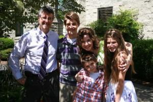 Joel, Sam, Katie, Gabe & Annie