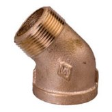 Brass Street 45 Degree Elbows (Lead Free)