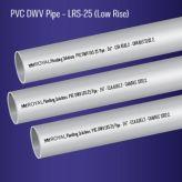 PVC DWV LRS-25 Pipe