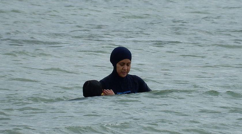 muslim swim photo