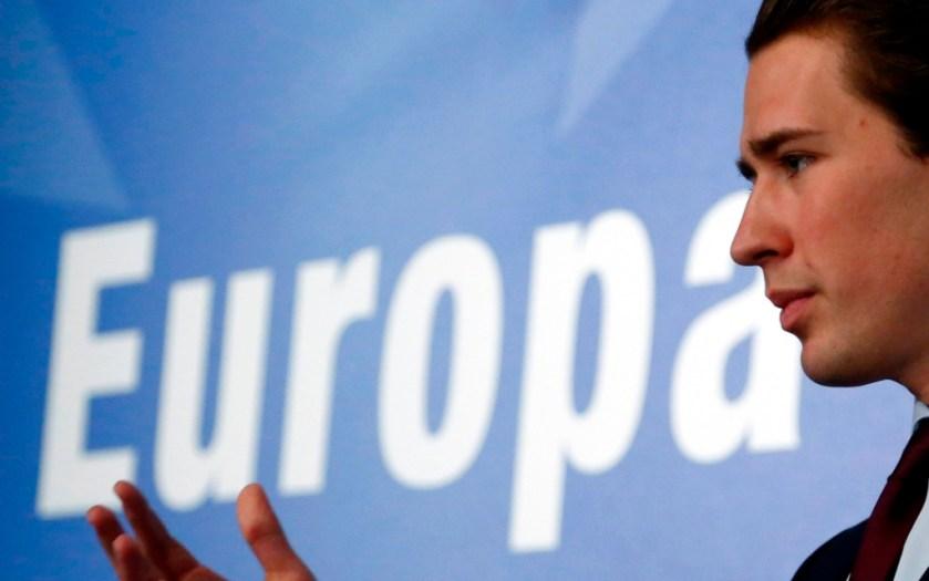 sebastian kurz europa photo