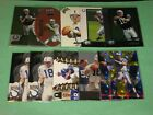 (10) 1998 98 PEYTON MANNING RC ROOKIE LOT BOWMAN CHROME + (10) READ BV$200+