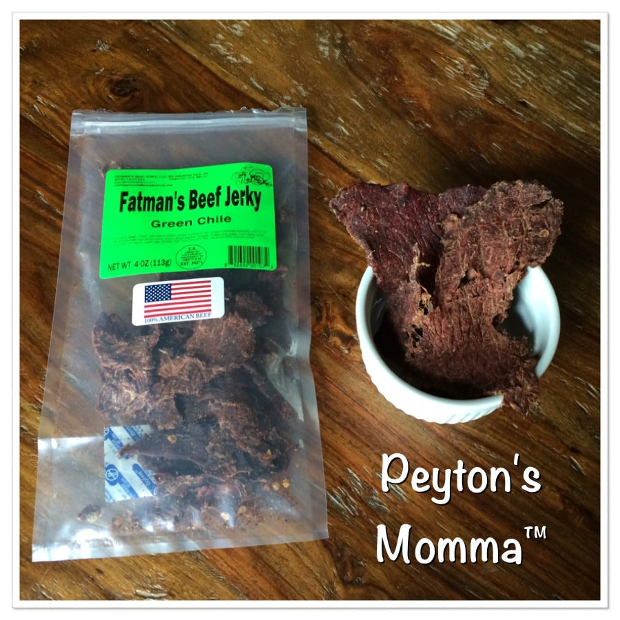Fatman's Beef Jerky Green Chile