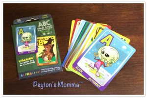 Flash Cards Especially for Boys!