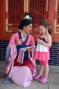Mulan at Epcot