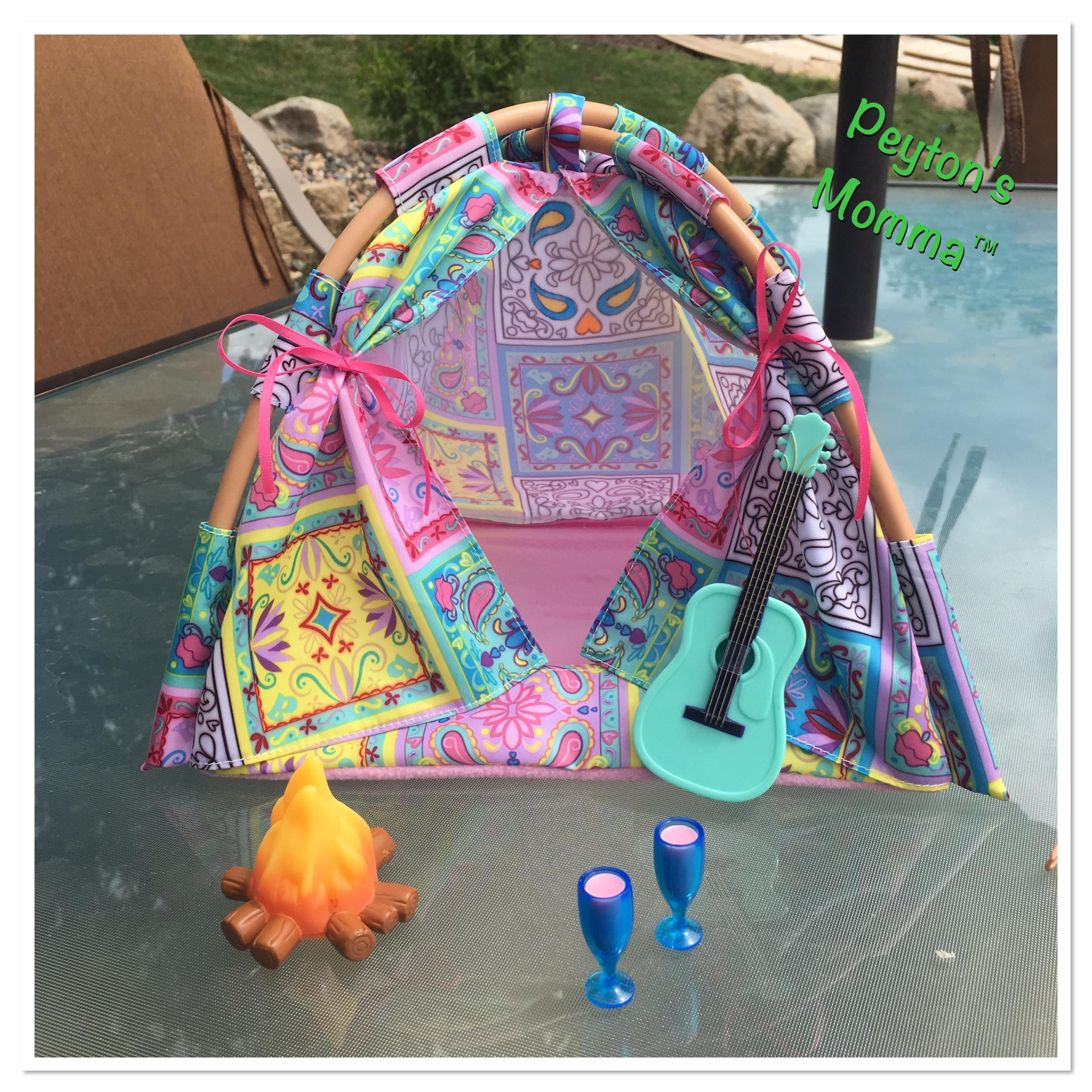 Bratz Music Festival Vibes Tent Playset