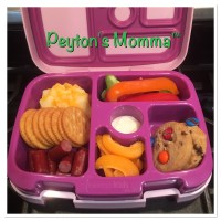 Cheese and Crackers Bento Box