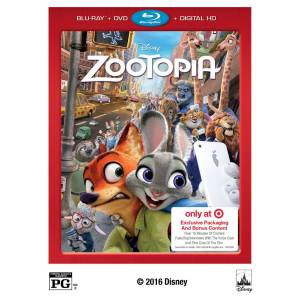 Zootopia is Out on DVD