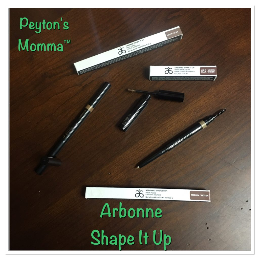 Arbonne Shape It Up Tinted Brow Cream and Brow Pencils