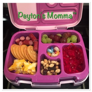 Butterfly Cheese and Crackers Bento Box