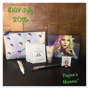 July Ipsy Bag July 2016