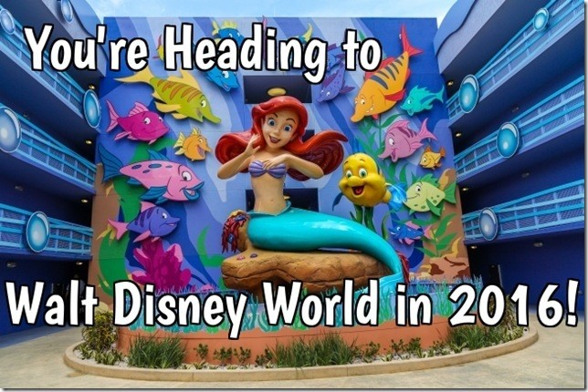 Heading to Disney