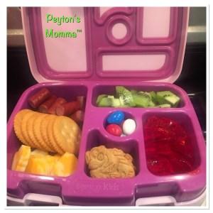 Cheesy Hearts and Crackers Bento Box