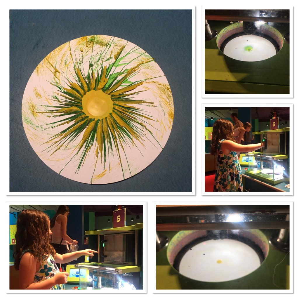 Crayola Experience Melted Crayon Spin Art