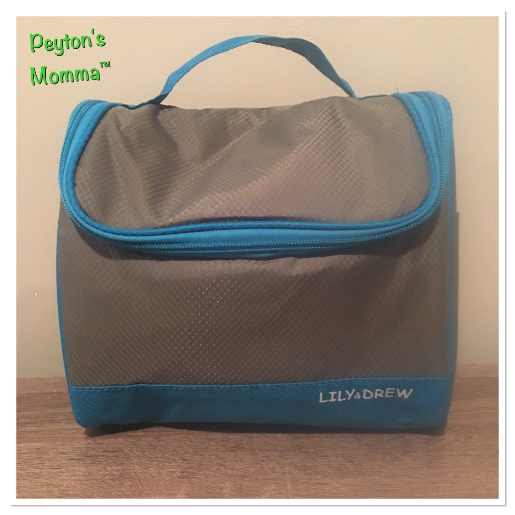 Lily & Drew Hanging Toiletry Bag