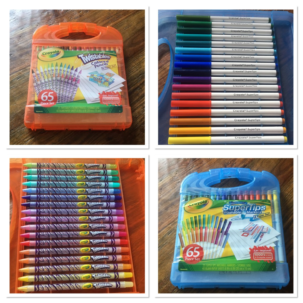 Crayola Twistable Colored Pencils and Markers