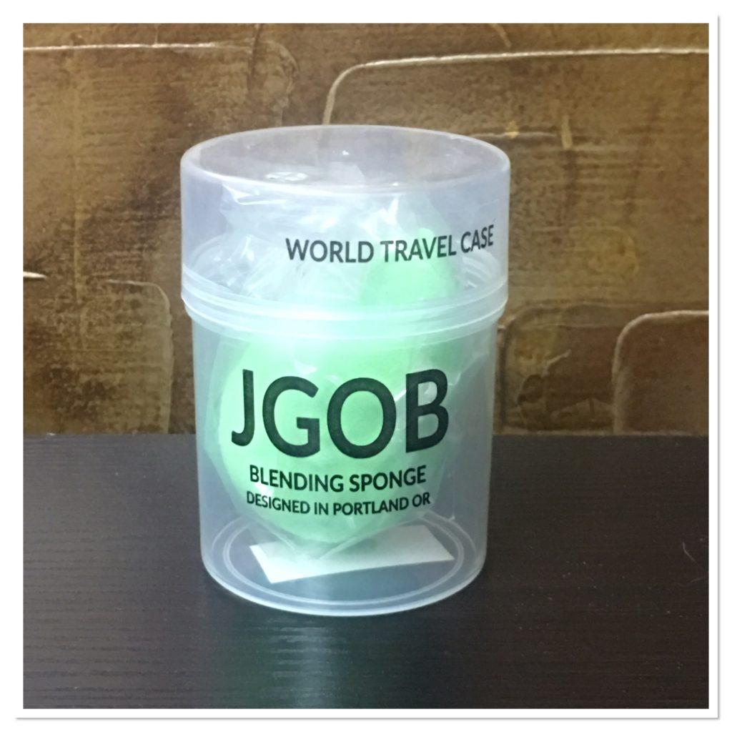 JGOB Travel Case with Blending Sponge